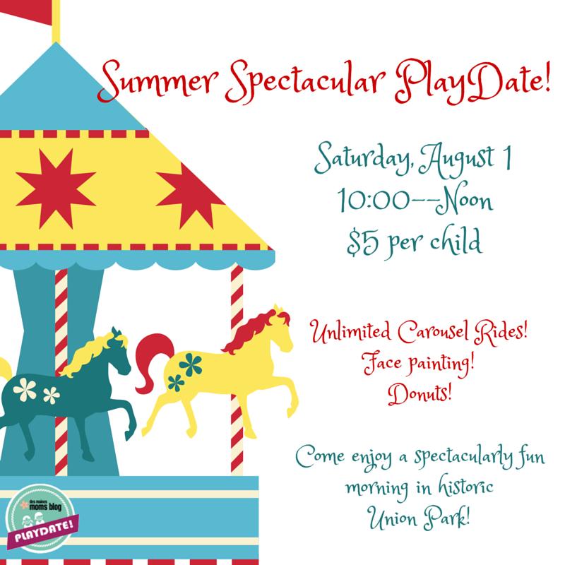 Summer Spectacular PlayDate!