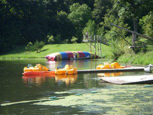 The blob at Lake Lecher