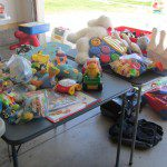 Garage Sale Tips and Donating the Leftovers…