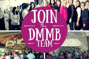 JOIN the DMMB team words impact