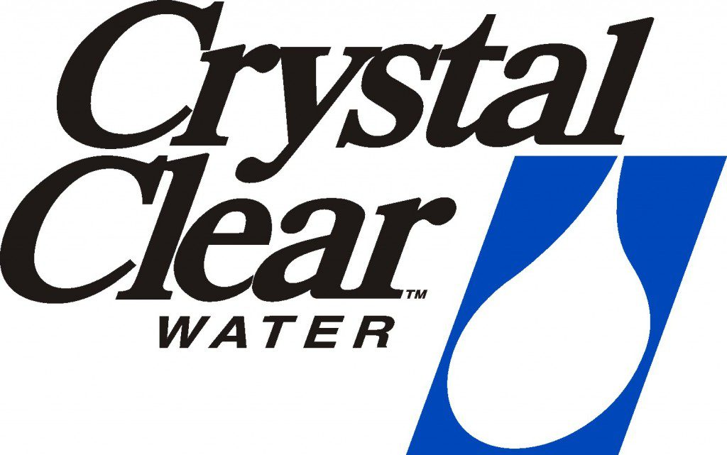 Crystal Clear Water Logo Stacked BLU