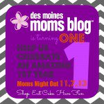 Des Moines Moms Blog Celebrates One Year (2012-2013)