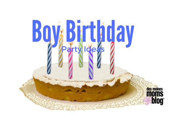 7 Easy Party Ideas For A Boy Birthday Bash