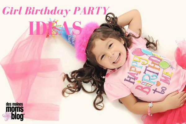 5 Girl Birthday Party Ideas