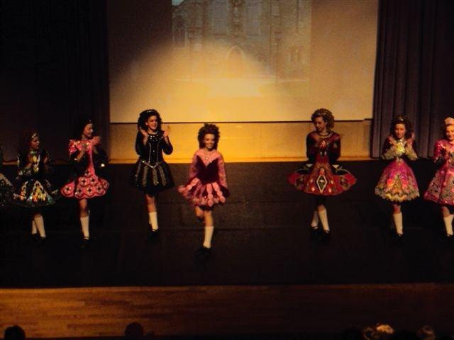 Irish dancers perform solos at the Irish Dance Hooley in Des Moines