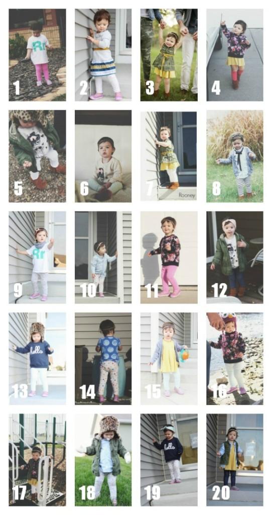 Kid Fashion Rooney 20x20