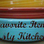 My 5 Favorite Kitchen Items
