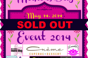 Mother's Day celebration SOLD OUT