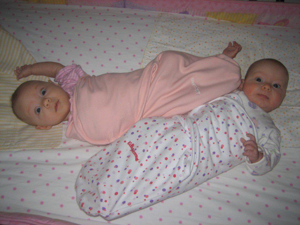 Twins - Sharing a Crib