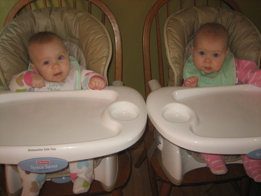 Twins - Fisher-Price Space Saver High Chair