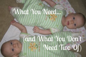 Preparing for Twins: What You Need (and What You Don't Need Two Of)