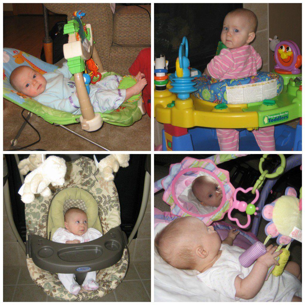 Twins - Babygear Collage