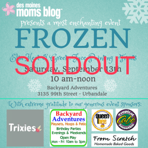 Frozen Play Date, DMMB Events, Elsa Princess Party