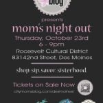 Mom's Night Out is Thursday (10.23.14): What You Need to Know!