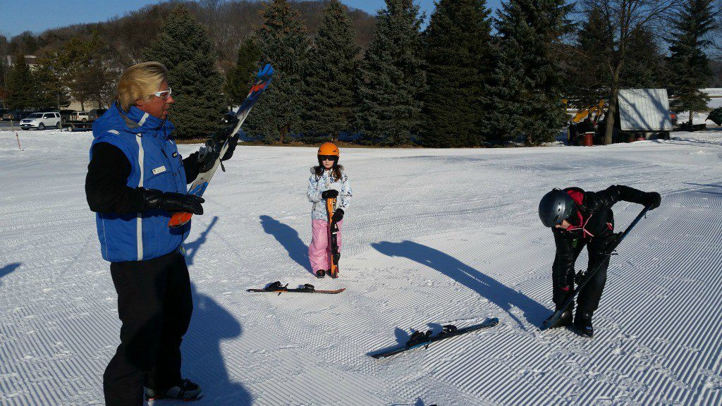 Learning to Ski at Mount Kato