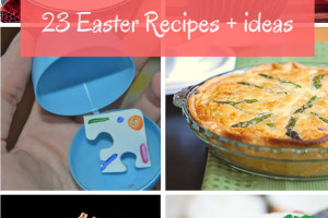 23 Easter Recipes and Ideas from Iowa Food Bloggers