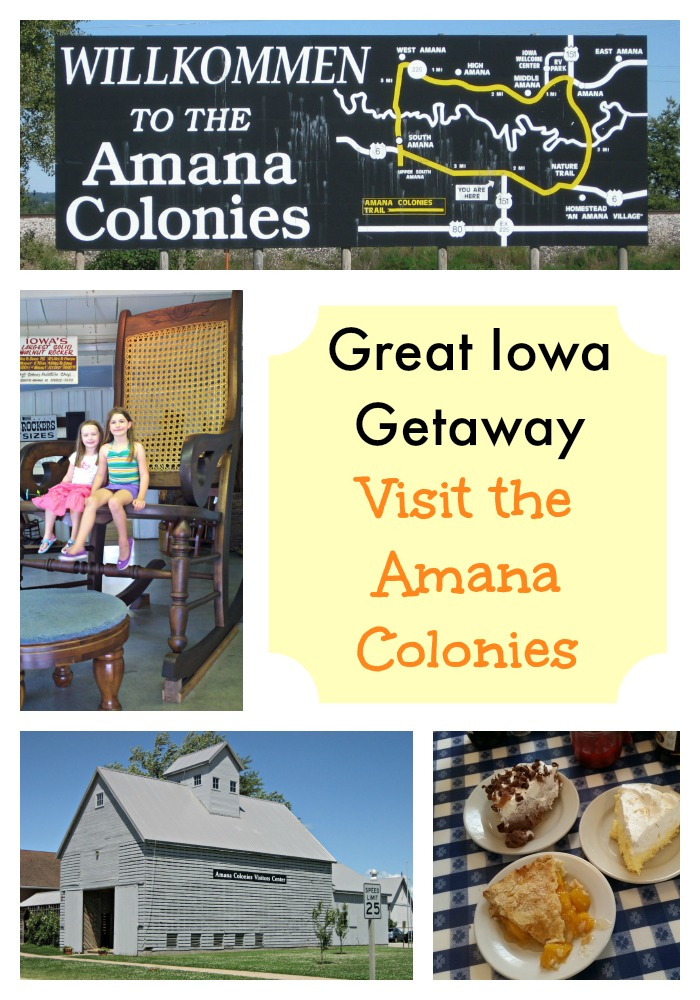 Iowa travel. Visit the Amana Colonies