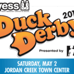 Family Fun at the Duck Derby to Benefit YESS on Saturday, May 2nd, 2015