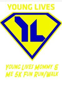 Young Lives fun run logo