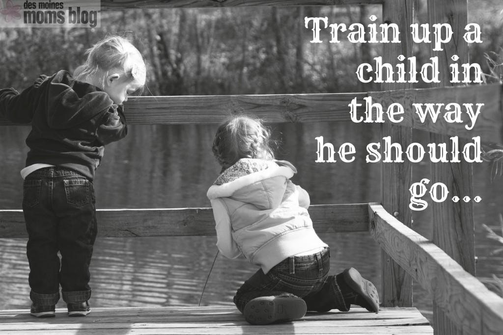 Child training logo
