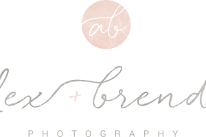 alex and brenda photo logo