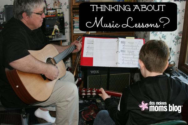 Thinking about Music Lessons for Your Child? Some Things to Consider...
