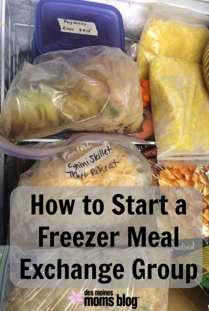 How to Start a Freezer Meal Exchange Group