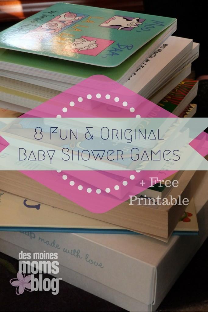 8 Original Baby Shower Games Free Printable