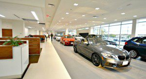 BMW new showroom multiple