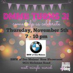 Des Moines Moms Blog's 3rd Birthday Bash at BMW of Des Moines