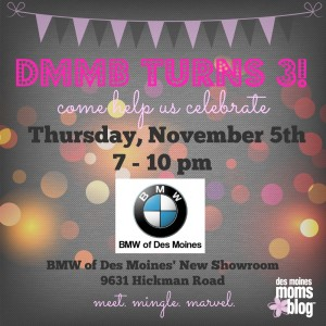 Des Moines Moms Blog Turns 3