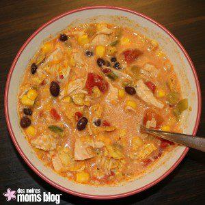 Chicken Enchilada Soup | Des Moines Moms Blog