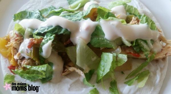 Chicken Fajitas | Des Moines Moms Blog