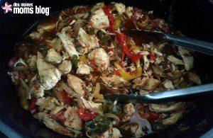 Crock Pot Chicken Fajitas | Des Moines Moms Blog