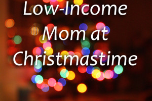 low income moms