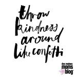 My Word of the Year for 2016: Kindness