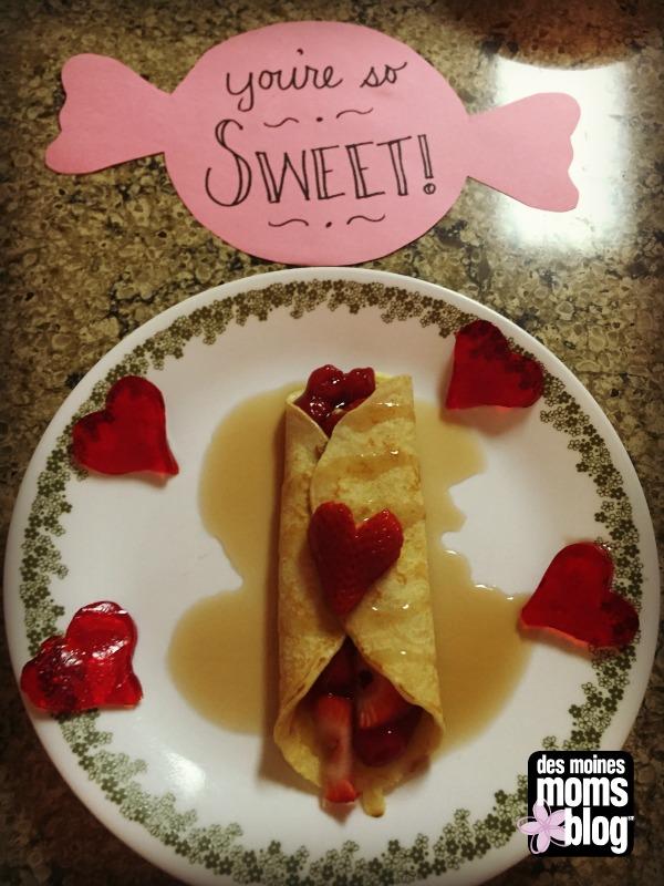 Valentine Crepe | Des Moines Moms Blog