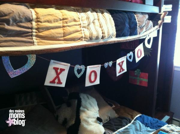 Valentine Decoration | Des Moines Moms Blog