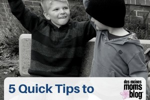 5 Quick Tips toEnd Sibling Fighting Des Moines Moms Blog