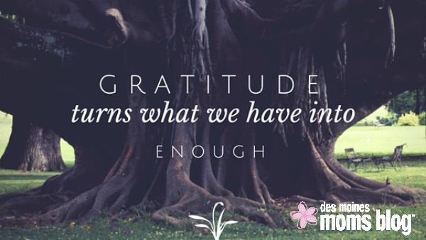 25 Things I'm Grateful for in April | Des Moines Moms Blog