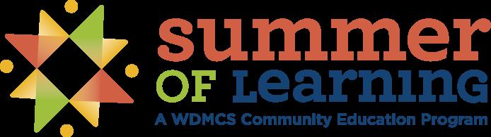WDMCS Community Education Summer of Learning