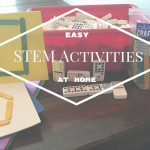 Easy STEM Activities to Do at Home