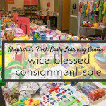 Featured Business Highlight: Twice Blessed Consignment Sale