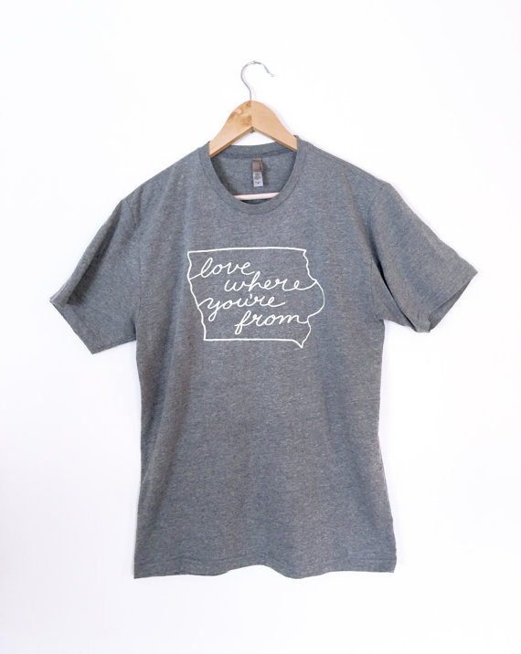 love where you're from tee | Des Moines Moms Blog