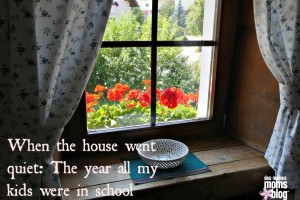 When the House Goes Quiet: The Year My Kids Were All in School | Des Moines Moms Blog
