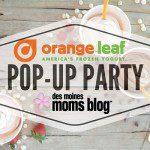 Featured Business Post: Orange Leaf Frozen Yogurt + a Giveaway!