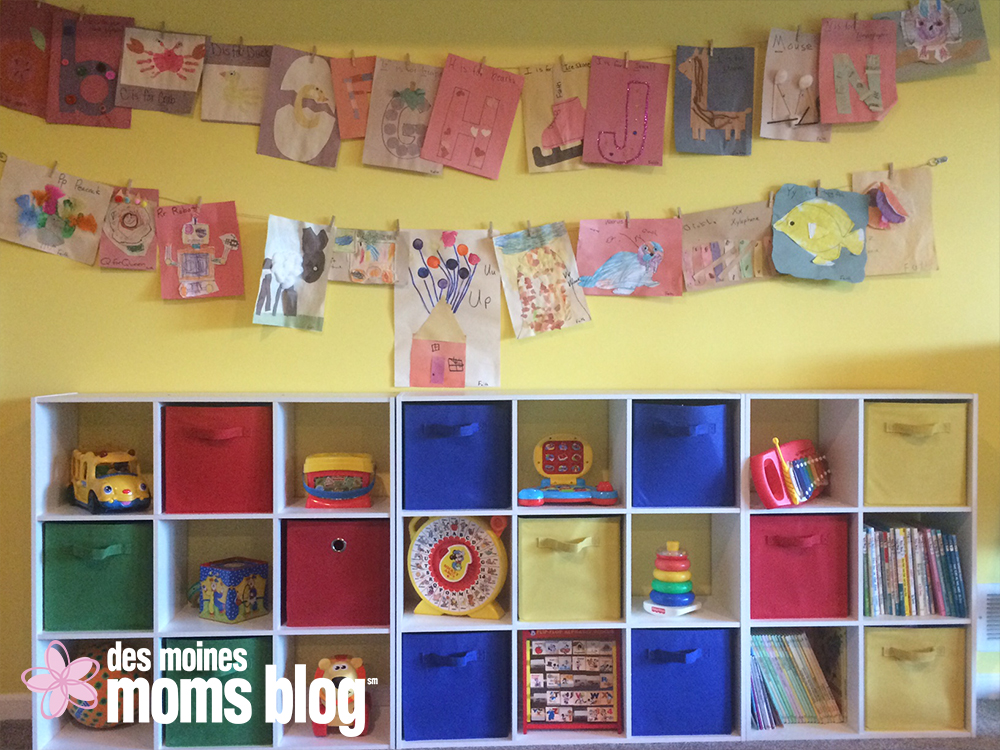 Fun Ways to Display Kids\' Artwork | Des Moines Moms Blog