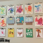 Fun Ways to Display Kids' Artwork