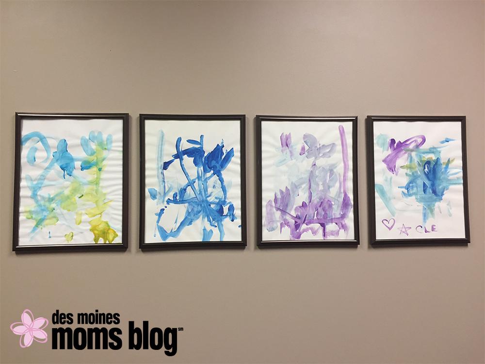 Fun Ways to Display Kids' Artwork: Office Series | Des Moines Moms Blog