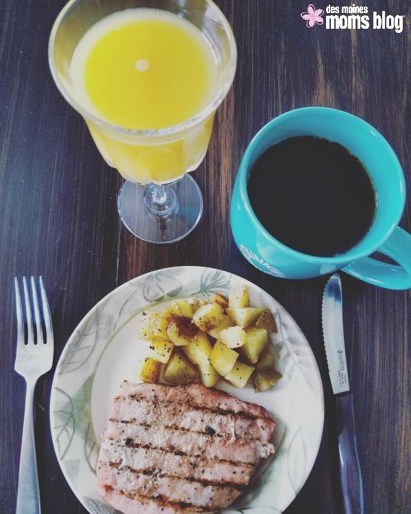Pork-Chops-Potatoes-Breakfast